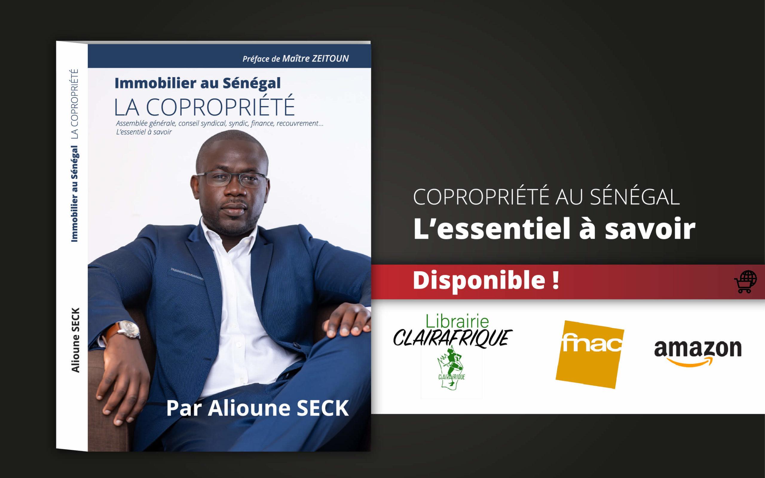 Livre copropriété au Senegal Alioune SECK